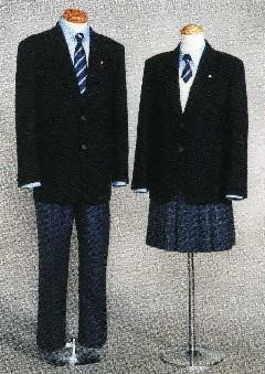 天羽高等学校制服画像