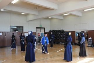 剣道稽古風景1