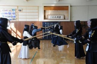 剣道稽古風景2