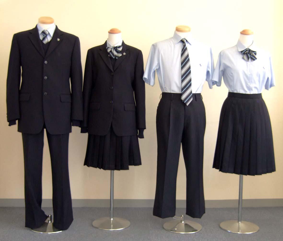 銚子高等学校制服画像