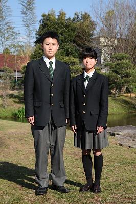君津青葉高等学校制服画像