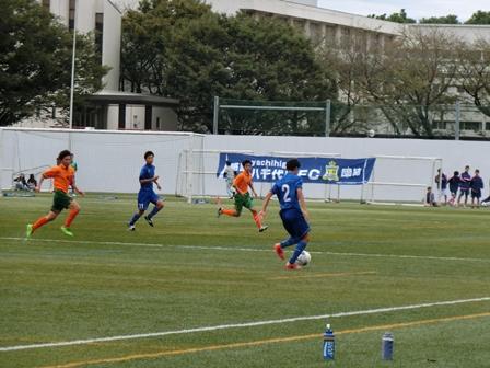 第95回全国高校サッカー選手権大会千葉県大会の様子
