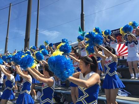 全国高校野球選手権千葉大会1回戦の様子