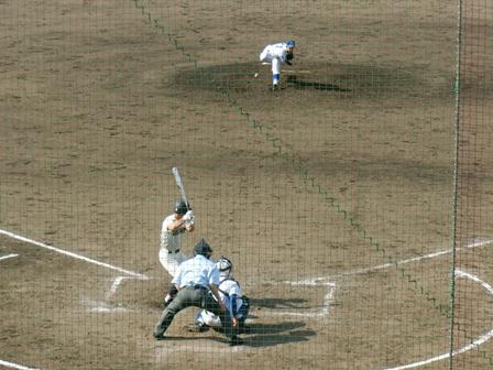 春季千葉県高等学校野球大会2回戦の様子
