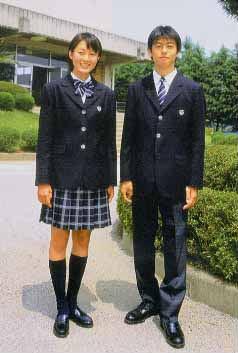 八千代西高等学校制服画像